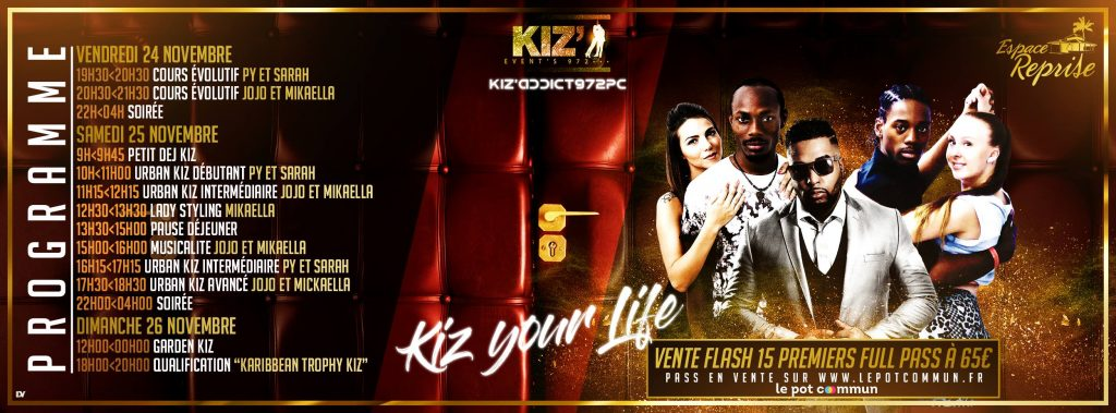 Kiz'Events972-Birthday-programme