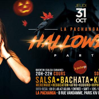 Halloween Party Pachanga 2019 - Paris Montparnasse