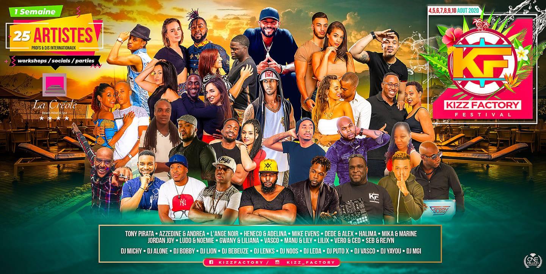 Kizz Factory Festival 2020 - Guadeloupe